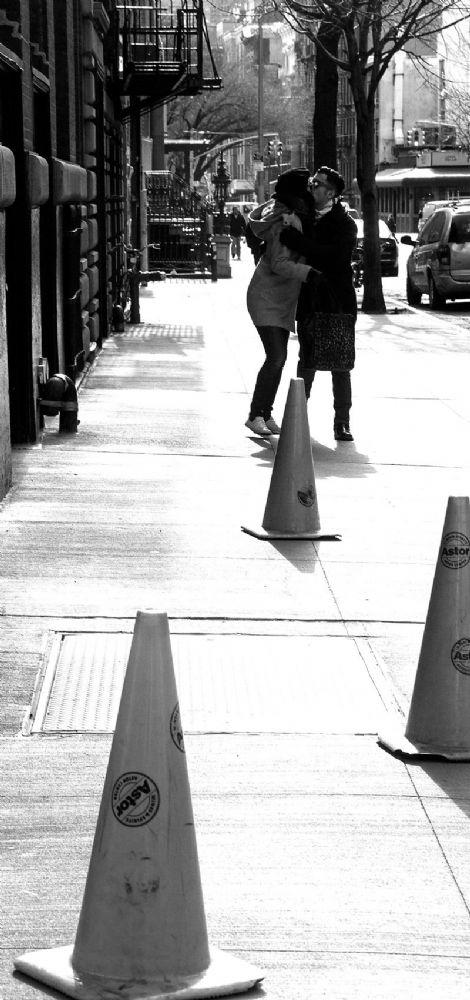 New York City.  The Kiss